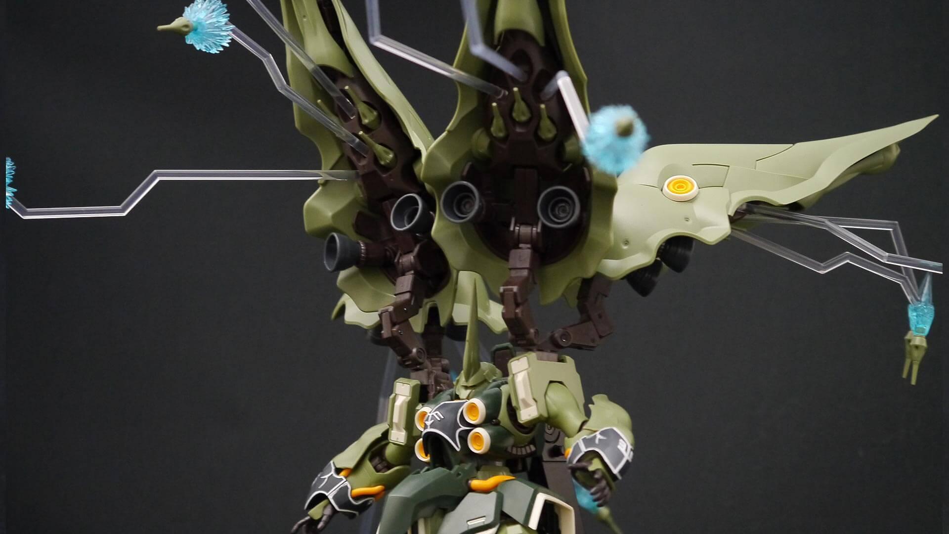 ROBOT魂 クシャトリヤ ファンネル射出 03