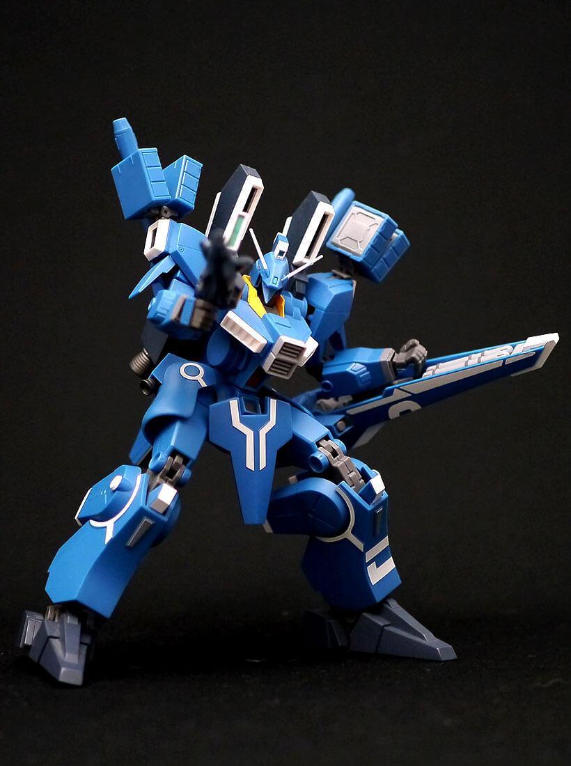 ROBOT魂 ガンダムMk-V ビームライフル正面構え