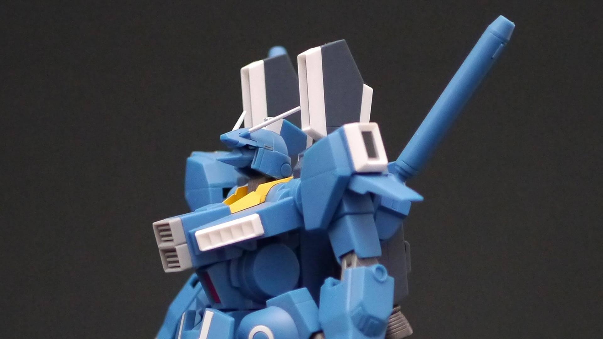 ROBOT魂 ガンダムMk-V 頭部 動き