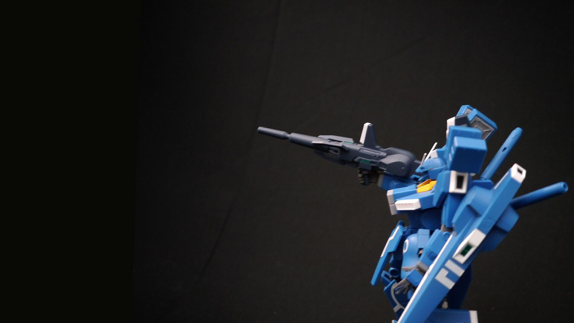 ROBOT魂 ガンダムMk-V フル装備横姿