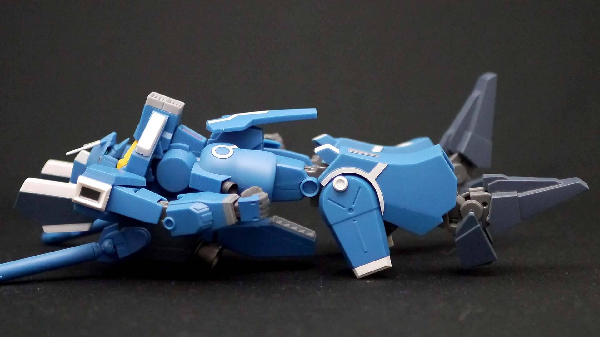 ROBOT魂 ガンダムMk-V 足首可動範囲 02