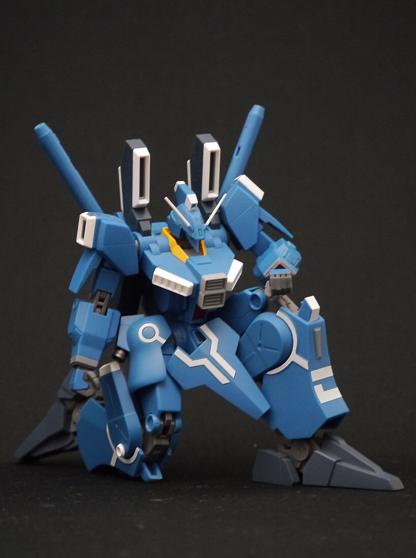 ROBOT魂 ガンダムMk-V 片膝立ち