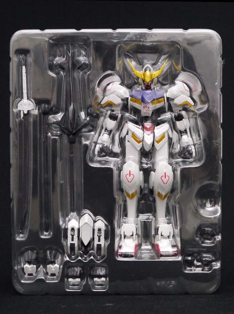 ROBOT魂 ガンダムバルバトス 内箱と付属パーツ