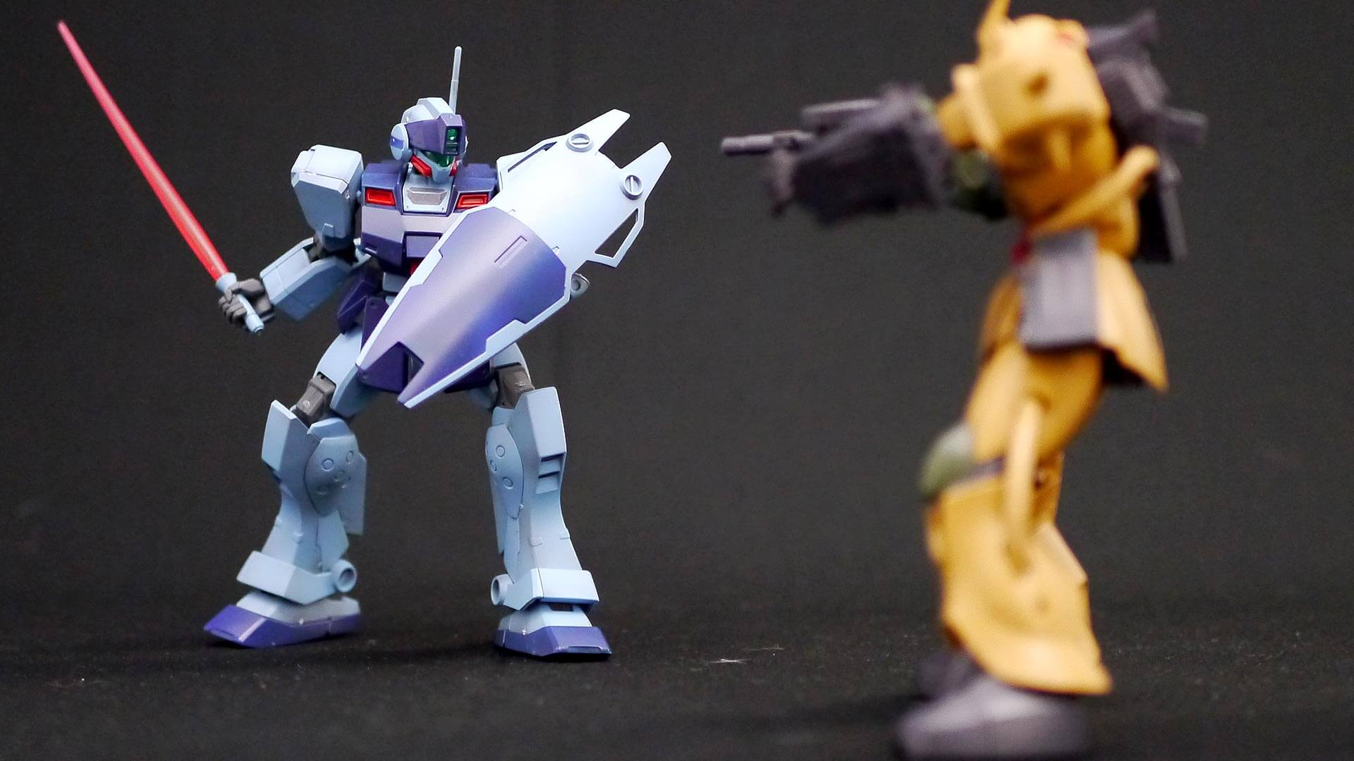 HGUC ジム・スナイパーII ROBOT魂 ザク・デザートタイプ 01